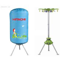 Tủ sấy Hitachi lồng tròn 2 tầng sấy