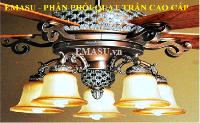 Nhà phân phối quạt trần panasonic và các loại quạt cao cấp khác