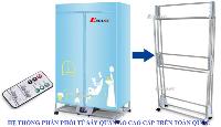 Địa chỉ bán tủ sấy, máy sấy quần áo cao cấp ở Hà Nội